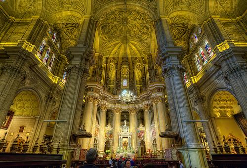Interior Catedral Malaga